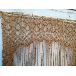 Perdea, decorațiune perete din iuta
