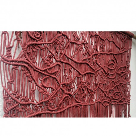 Decor perete arabesque macrame