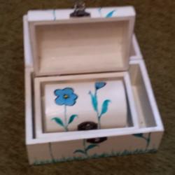 Set 3 cutii pictate