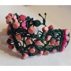 Bratara handmade macrame unicat