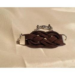 Bratara handmade nod celtic maro