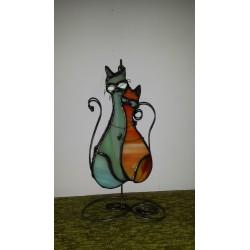 Vitraliu pisici