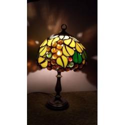 Veioza vitraliu lumini si umbre