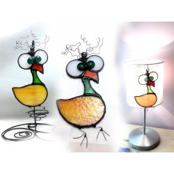 Suncatcher vitraliu dodo