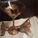 Set pahare martini pictate unicat
