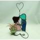 Planta aeriana Decoratiune vitraliu cu Tillandsia